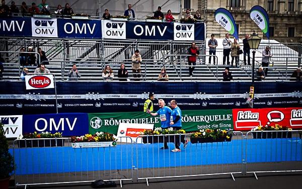finisher vienna city marathon 2014 slowakei