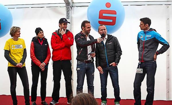Gabriela Sonnleitner, Erste Bank Sparkasse Running Frontrunner Claudia & Clemens, Ronny Leber, Hannes Menitz, Michi Buchleitner (v.l.); Credits: Erste Bank Sparkasse Running