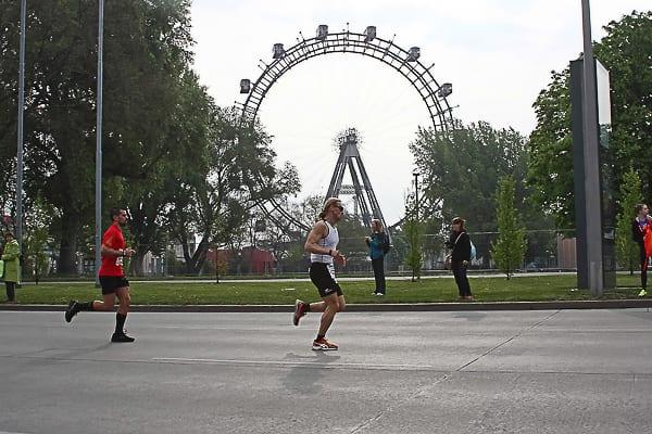 Das Riesenrad war nur eine von vielen Attraktionen auf der Stecke; Fotocredit: Erste Bank Sparkasse Running