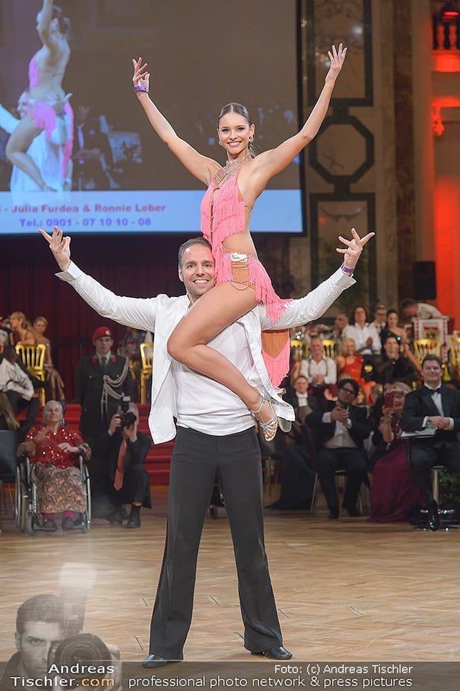 9. Dancer against Cancer Charityball Frühlingsball, Wiener Hofburg, Wien, 11.4.2015, Ronny LEBER, Julia FURDEA