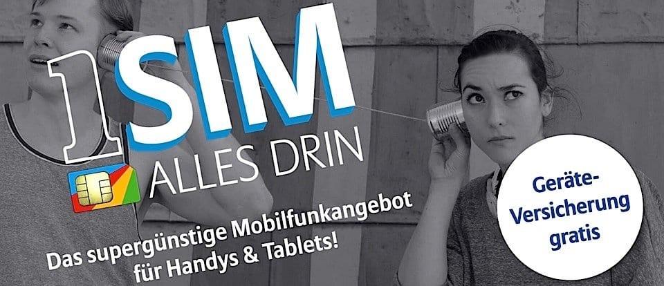 Allianz SIM - 1 SIM, alles drin!