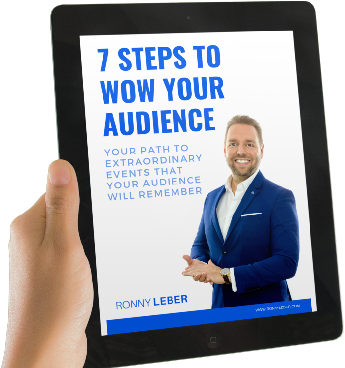 7 steps to wow your audience cover