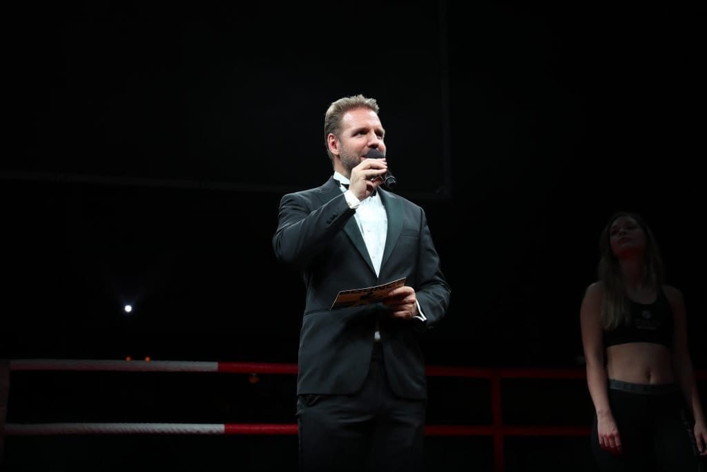 2018 Ring Announcer Boxing