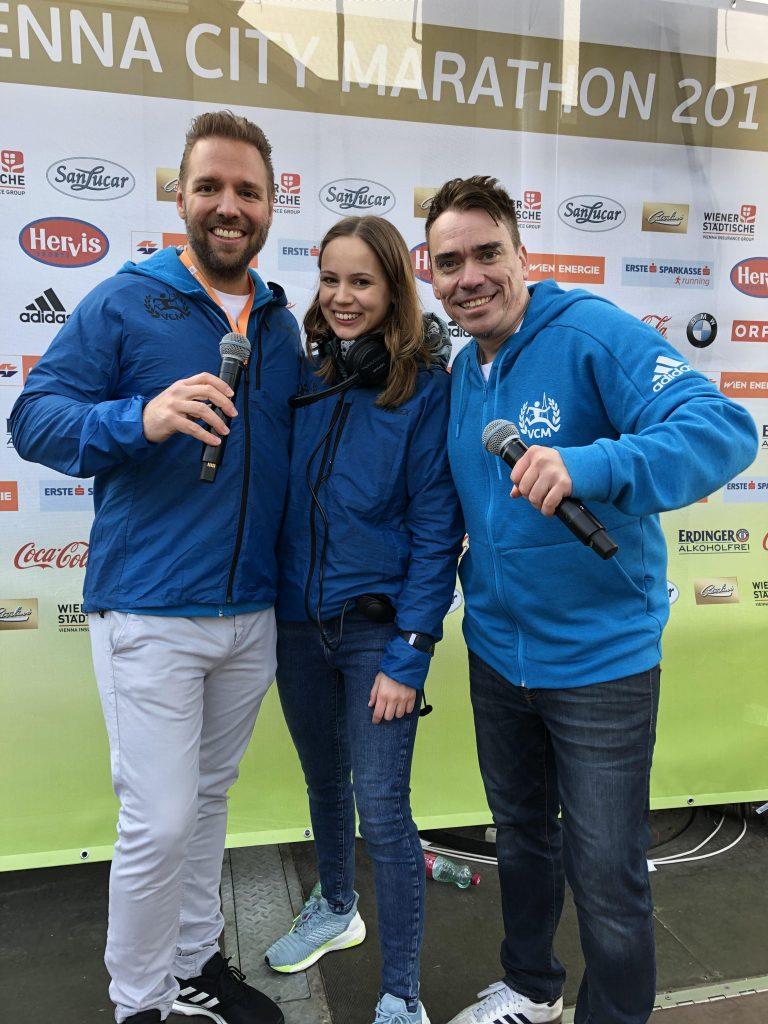vienna city marathon 2019 start entertainment anika lenhart dj stari